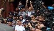 Myanmar jailing of Reuters pair 'deeply troubling': Pence