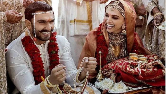 First Wedding Pic Of Deepika And Ranveer Singh 2018 11