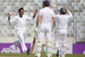 Bangladesh level series with Mehedi Miraz's five-for