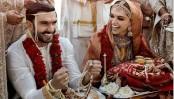 First wedding pic of Deepika and Ranveer singh