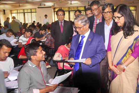 Dhaka University retakes 'Gha' unit entry test
