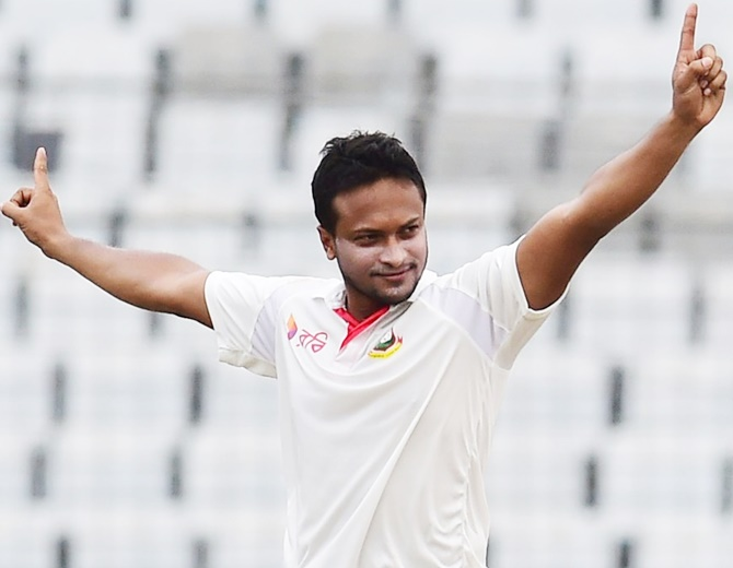 Shakib returns from finger injury for first Test against West Indies