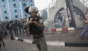 Israeli forces disperse journalists' protest in West Bank