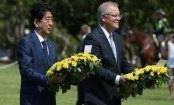 Japan PM Abe's in historic visit to Australia's Darwin 76 years after bombing