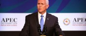 Pence meets Taiwan's delegation at APEC summit
