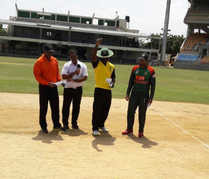 2-day Warm-up: West Indies opt bat against BCB XI