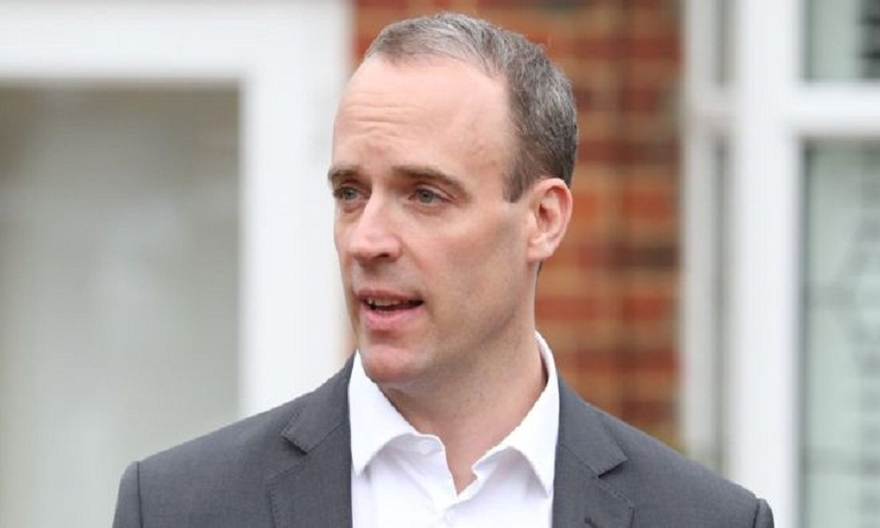 Brexit: UK not standing up to Brussels bullies, says Raab