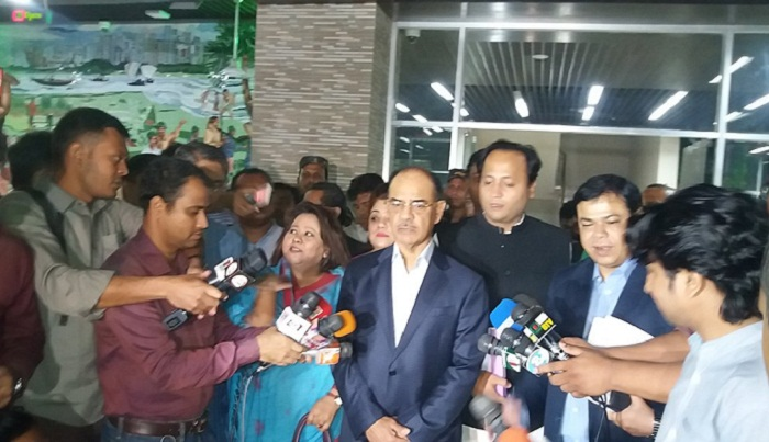 AL takes up Tarique's teleconference issue with EC