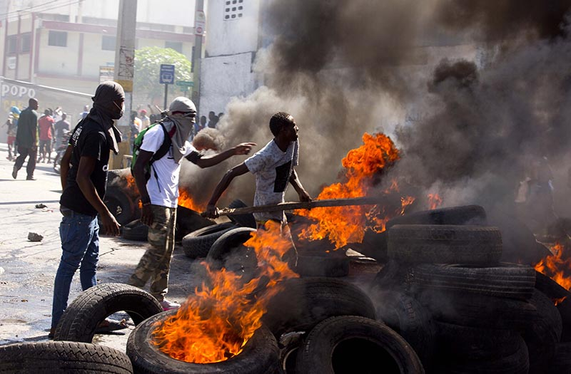 6 killed, 5 wounded in corruption protests across Haiti