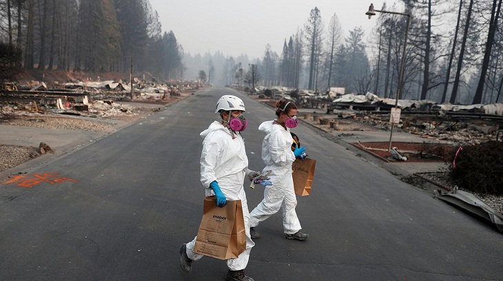 Victims mourned as toll hits 77 in California wildfire