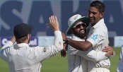 Patel spins New Zealand to thrilling four-run win in first Test over Pakistan