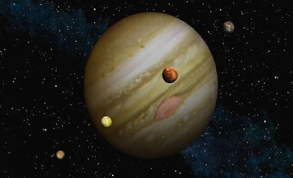 NASA probe beams back image of Jupiter's moon Io