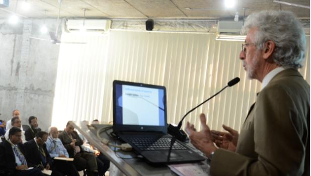 IUBAT holds Seminar on Down-loading, up-skilling, and Cross-training