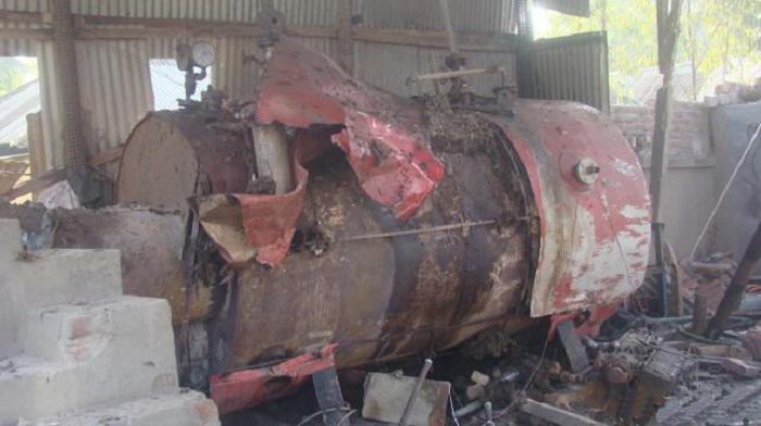 Boiler blast kills worker in Thakurgaon