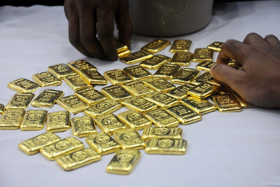 4.64 kgs of gold seized at Shahjalal Airport