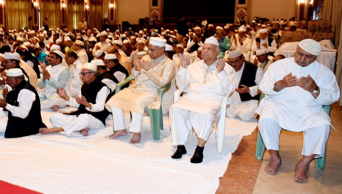 Dr Kamal joins milad mahfil at Bangabhaban