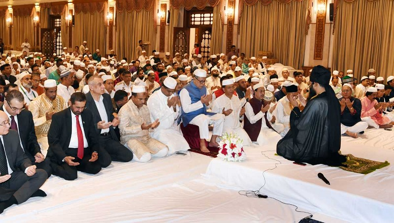 President hosts doa mahfil on Eid-e-Miladunnabi