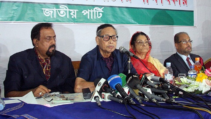 I myself will take all party decisions: Ershad