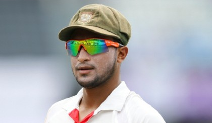 Shakib doubtful for first Test against West Indies