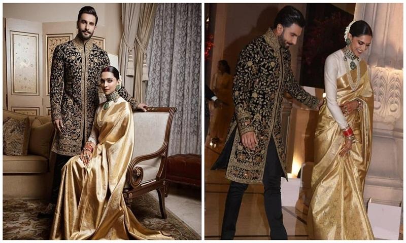 Ranveer Singh Deepika Padukone Look Every Bit Royal At
