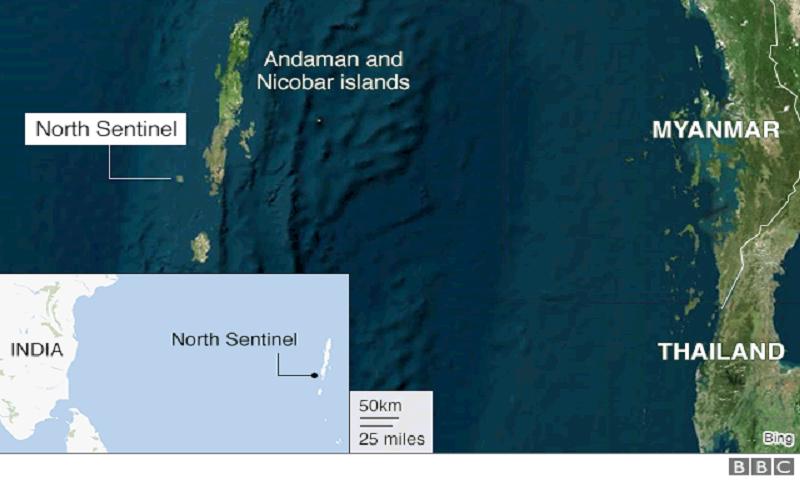 Andamans: US man's death puts spotlight on 'tribal tourism'