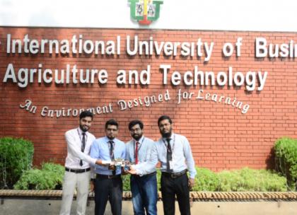 Iubat Robotics Team To Join Iit Competition In India 2018 11 24