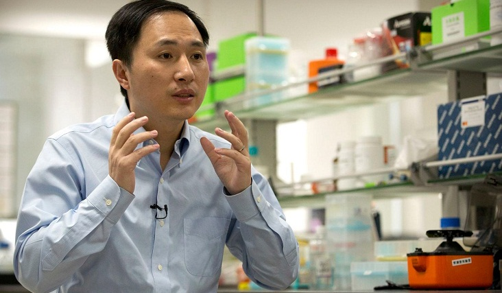 China scientist claims world's first gene-edited babies
