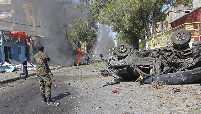 Mogadishu market bombing kills seven in Somalia