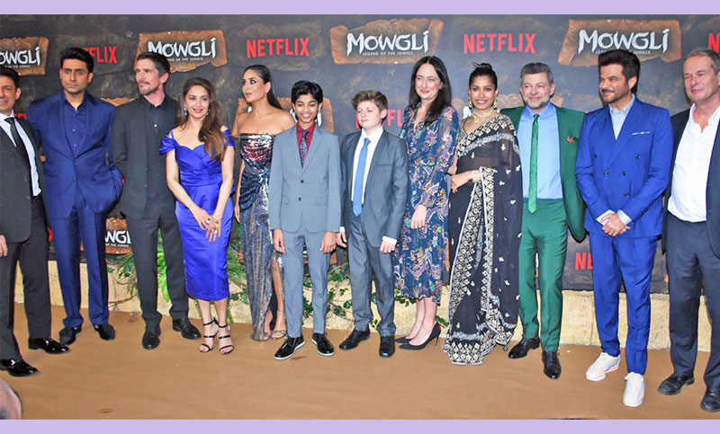 Hollywood, Bollywood stars bond over Andy Serkis' 'Mowgli'
