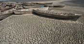 Receding Malawi lake lays bare cost of climate change