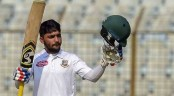 Mominul assumes 24th spot in ICC's Test batting rankings, advances 11 steps