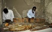 Egypt unearths eight ancient mummies
