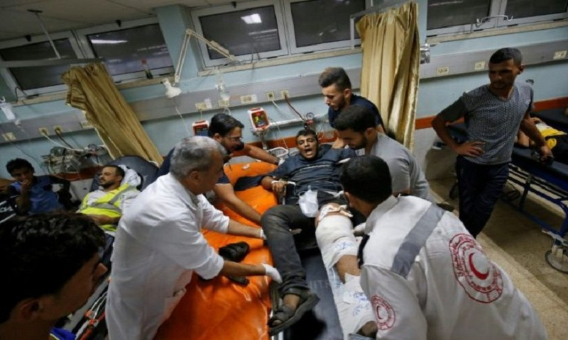 Hundreds of injured Gazans at risk of infection: MSF