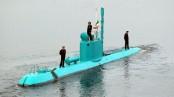 Iran says it has added 2 mini submarines to its naval fleet