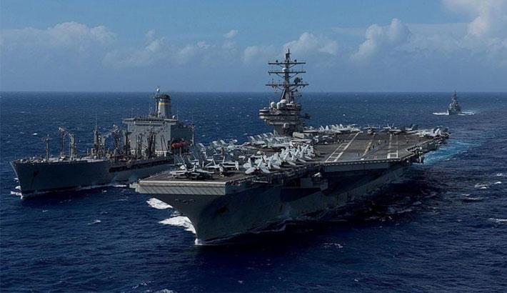 US Navy sends 2 ships through Taiwan Strait