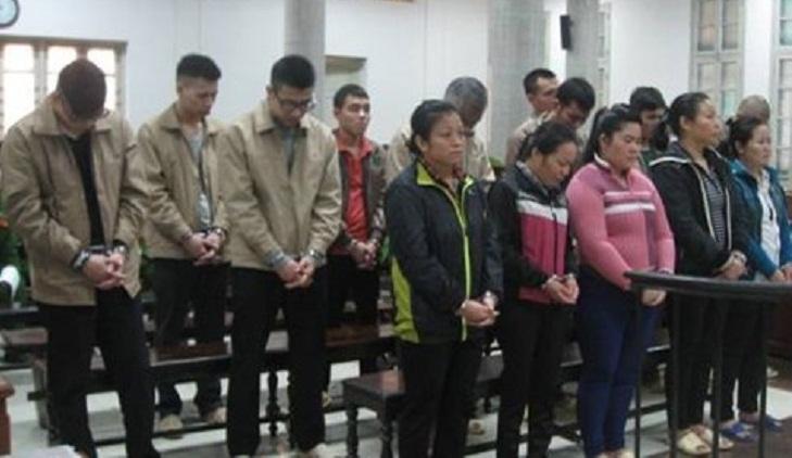 Nine sentenced to death in Vietnam for dealing meth, heroin