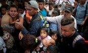 Caravan migrants declare hunger strike to pressure US