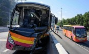 Five dead, 32 injured in Hong Kong coach crash: police