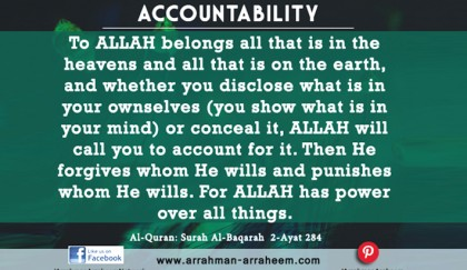 Accountability in Islam   2018-11-30