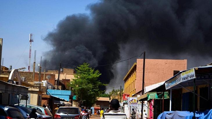 Five dead in Burkina bomb attack