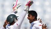 Shakib, Mehedi strike after Bangladesh rack up 508