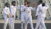 Windies stumble in spin trial after Mahmudullah ton