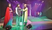 Shakespearean play Hamlet staged at BSA