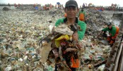 Indonesian island clean-up nets 40 tones of rubbish daily