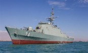 Iran launches domestically made destroyer