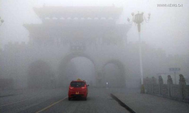 China renews yellow alert for fog