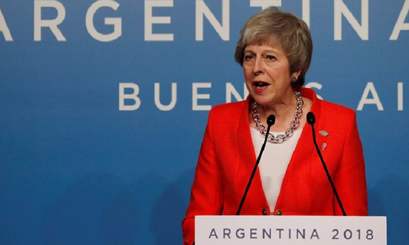 Brexit: Theresa May seeks to reassure world leaders