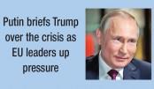 War will continue so long as Ukraine govt stays: Putin