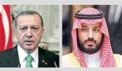 Erdogan takes Saudi prince to task