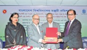 UGC accords reception to its chairman for getting D Litt